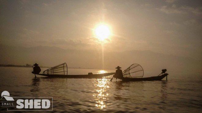 inle lake- pescatori