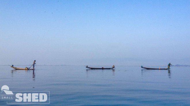 inle lake - fisherman -