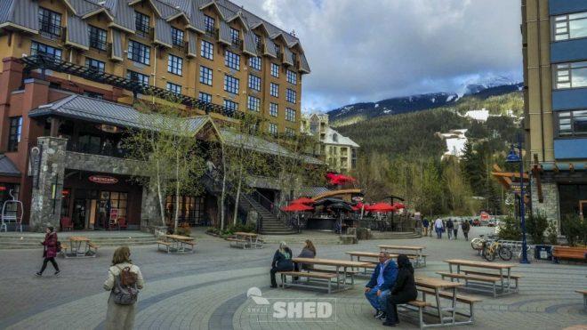 whistler - canada - snow - sky