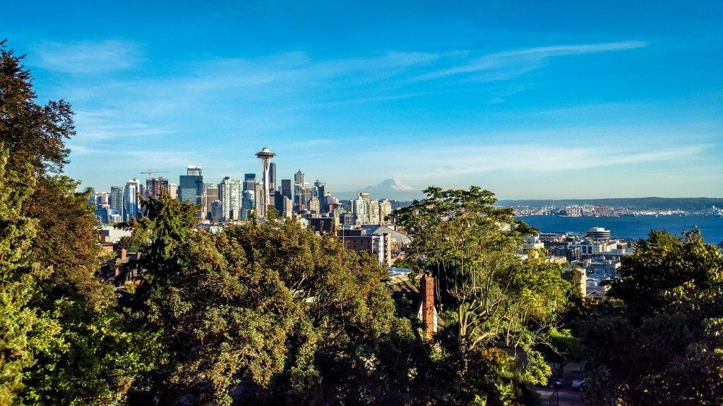 Vista da Kerry Park della città di Seattle