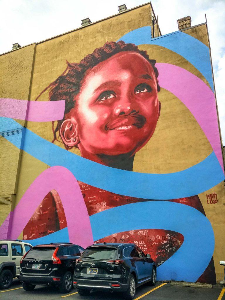 murales in centro a Portland