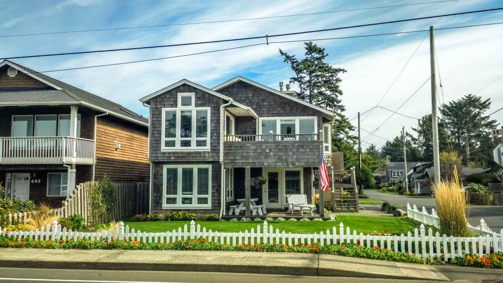 Casa tipica di Cannon Beach