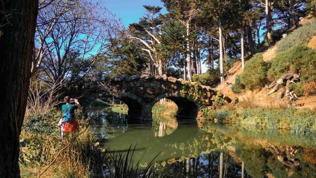 ponte nel golden gate park