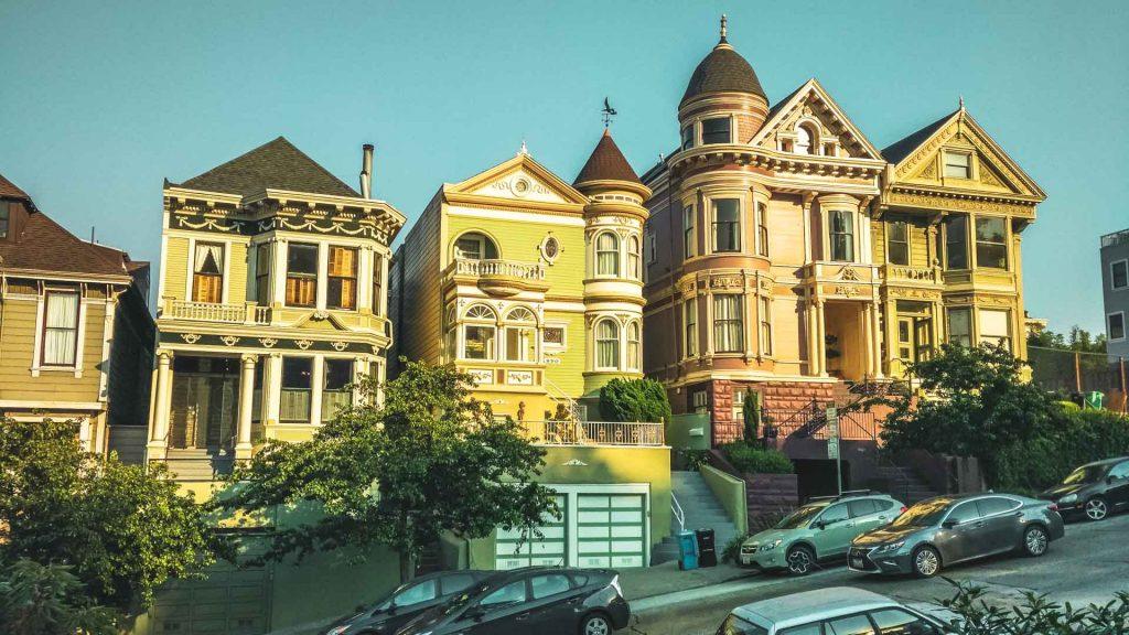 Le four season case tipiche di San Francisco