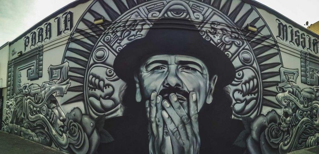 Murales di Carlos Santana