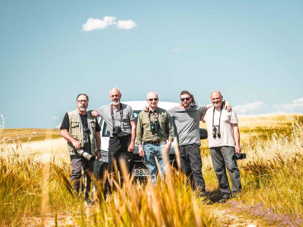 gruppo fotografico birdwatching estremadura