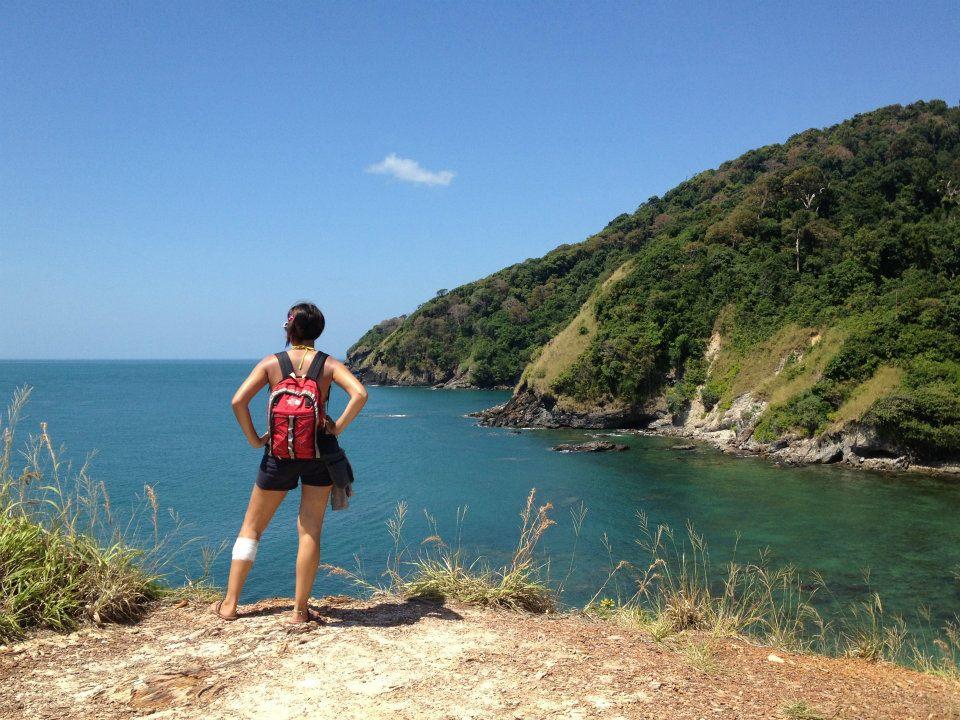 io che guardo il mare a Ko Lanta