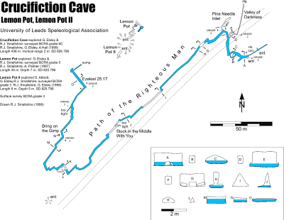 Cave exploration in the Dales