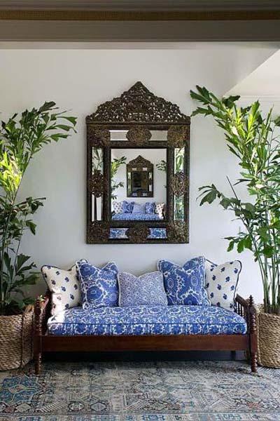 moss studio sofa reviews modern bed vancouver design under the influence: indigo pillows | la dolce vita