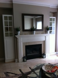 Creating fireplace cabinets | Small Space Style