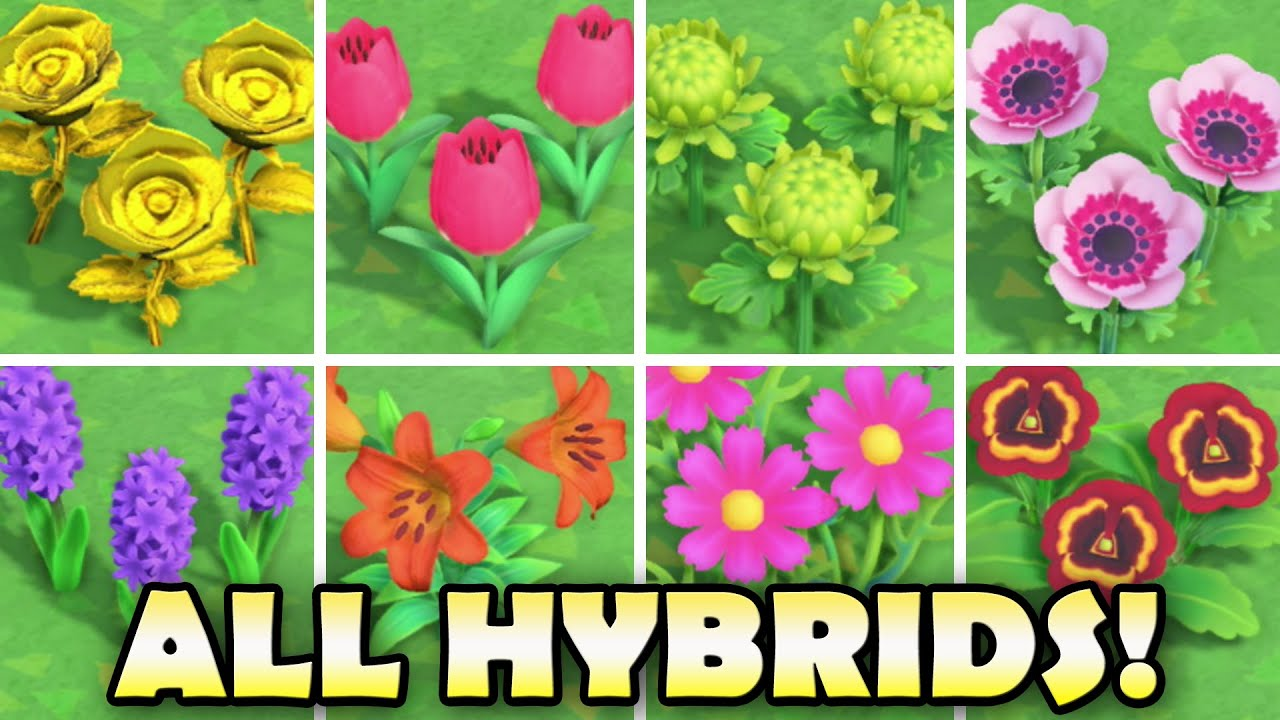 Animal Crossing New Horizon S Flower Genetic Guide For Breeding Hybrids Supportsmallstreamers