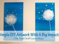 Simple DIY Artwork With A Big Impact