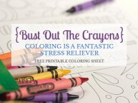 Bust out the crayons, it's coloring time!
