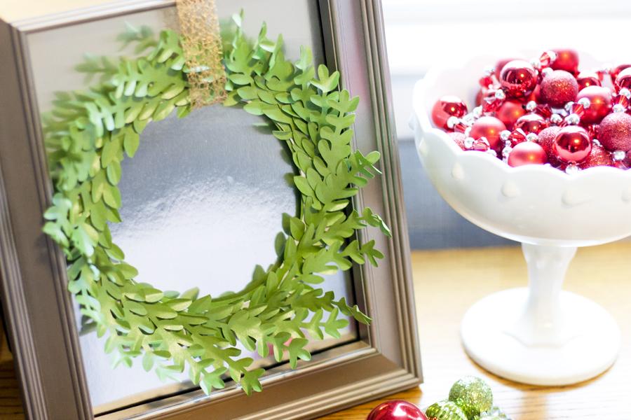 Framed Boxwood Wreath 2