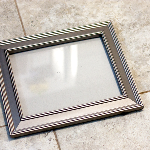 Thrift Store Swap Holiday 2015 Silver Frame 3