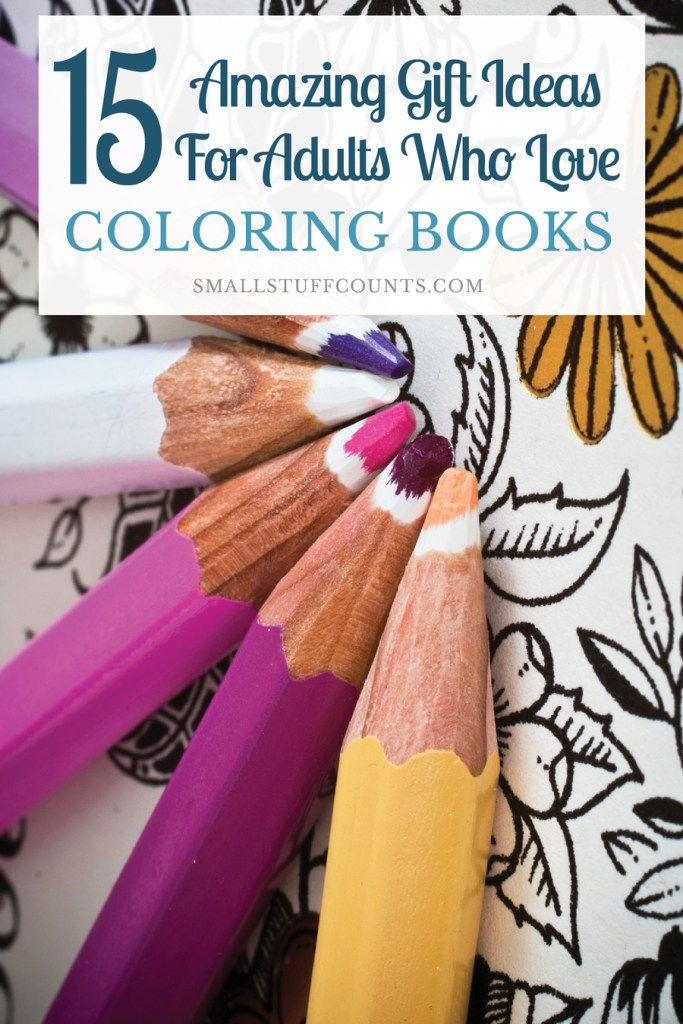 Image of adult coloring book gift ideas
