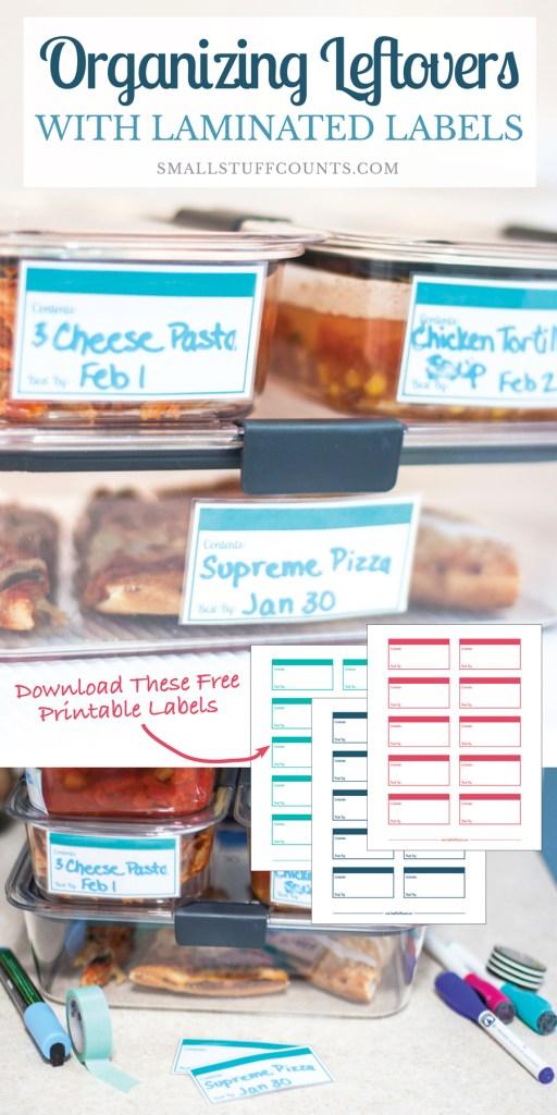Organizing Leftovers