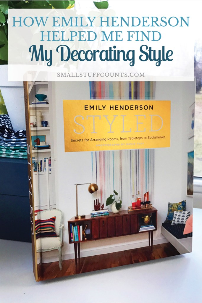 Looking for your decorating style? Want decorating tips? Here's why I'm obsessed with Emily's Henderson's book, Styled. It really helped me learn me about how I want to decorate my home. If you love home decor or want tips on how to get better at it, this is the book for you.