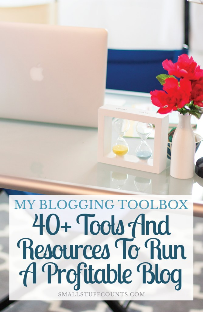 This girl is spilling about all of the things that help her run a profitable, growing blog. There are so many helpful tools and resources in this list!