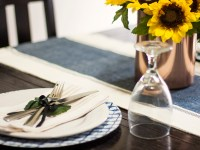 Summer In The Dining Room & A Simple Summer Tablescape