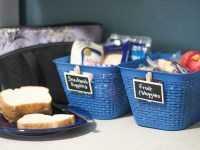 Create An Organized Lunch Packing Station