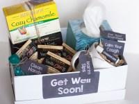 DIY Get Well Gift Basket (With Printable Gift Tags)