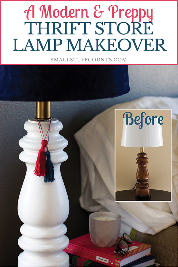 thrift-store-lamp-makeover-for-nightstand