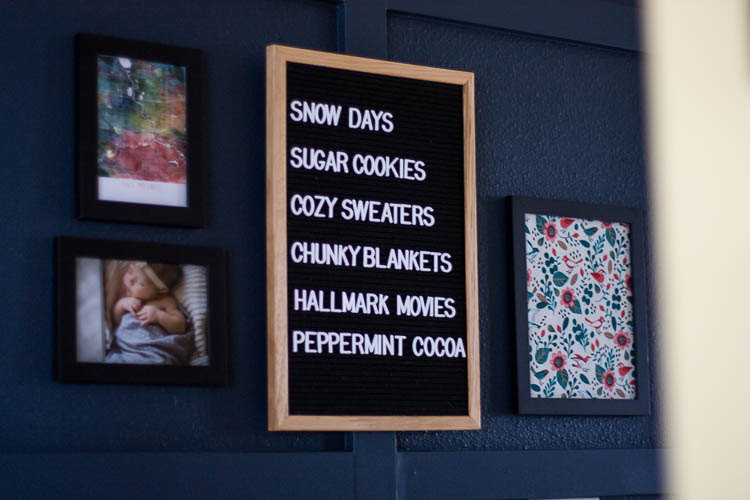 christmas-letter-board-in-navy-entryway