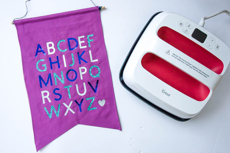 cricut-easypress-and-diy-fabric-banner