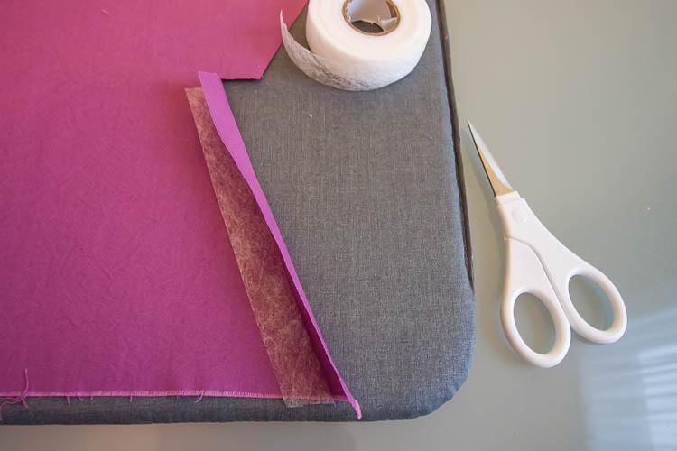 purple-fabric-banner-hemming-edges