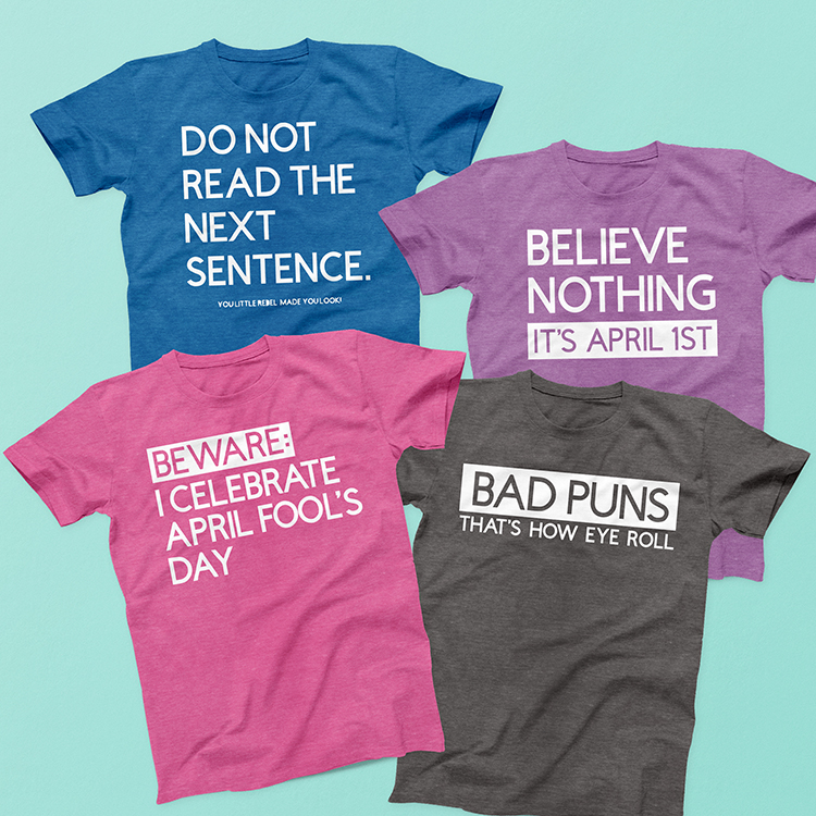 four-colorful-shirts-with-funny-sayings