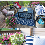 colorful-deck-with-chairs-and-bench-swing-and-blue-rug