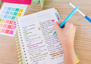 powersheets-goal-planner-on-table