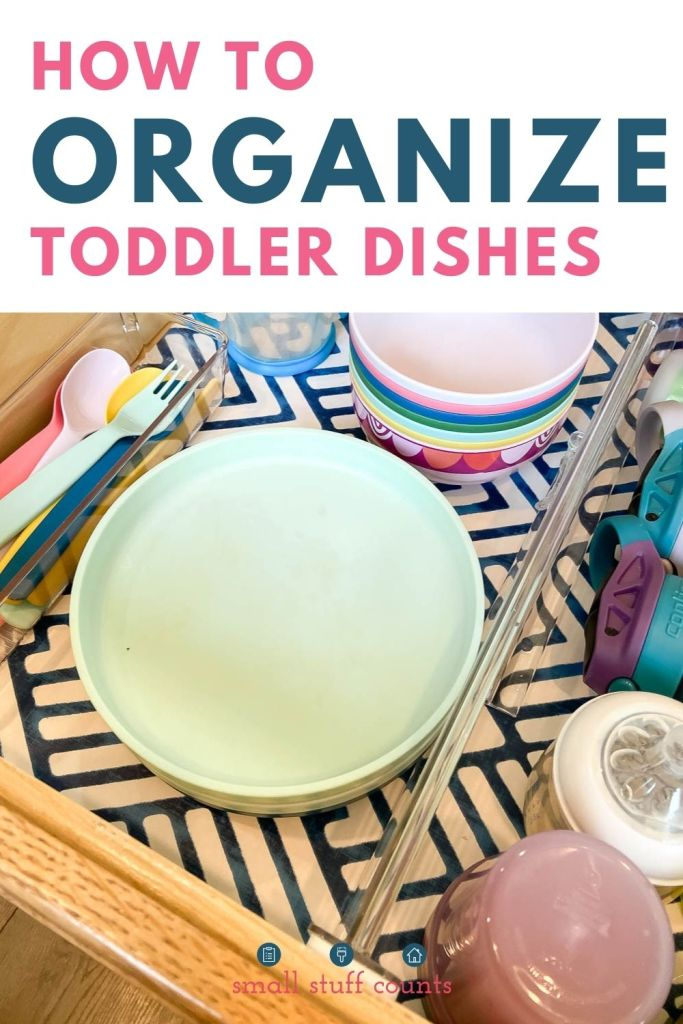 kids dishes and text box