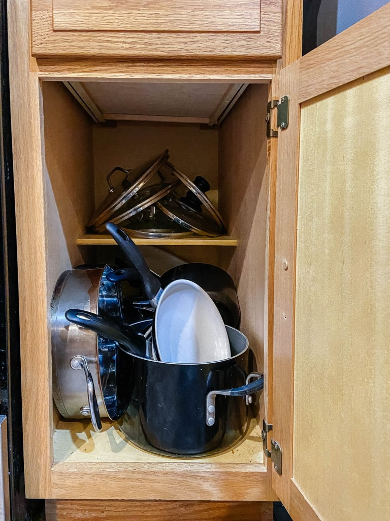 cookware cabinet
