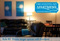 Organizing My Apartment {5 Rules For A Small Living Room ...