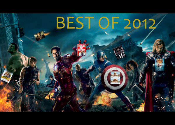 avengers - [Cinéma] Best-Of 2012
