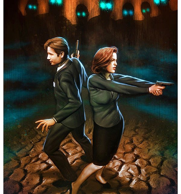 saison 10 en comics - X-Files saison 10 en comics dès juin ! news illustre 1362356444 642