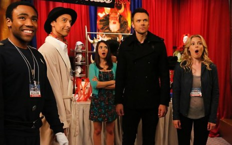 Community - Community - 4x03 - Conventions of Space and Time spacetime