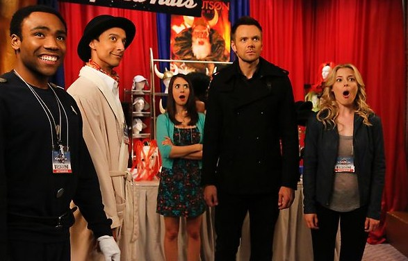 Community – 4×03 – Conventions of Space and Time
