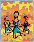 Venez vous faire suer au yoga bikram !