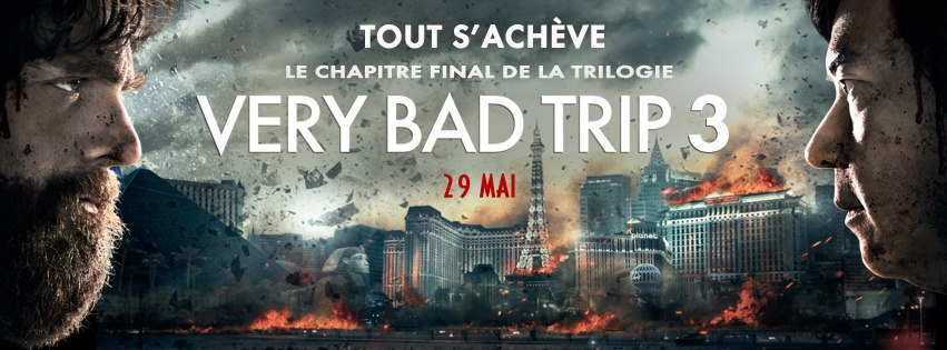 Bradley Cooper - Very Bad Trip 3 : on oublie le trip
