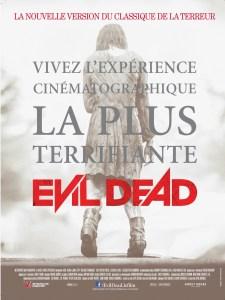 Evil Dead Affiche Française