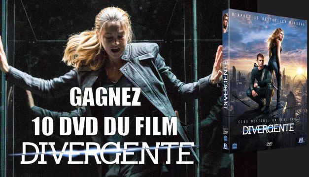 Jouez et tentez de gagner des DVD du film Divergente !