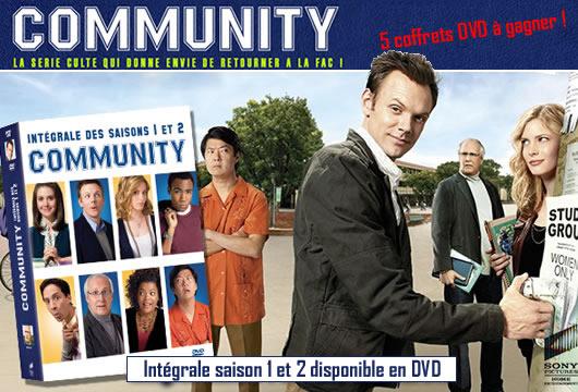 Community : 5 coffrets DVD à gagner !