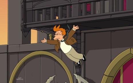 Futurama - Futurama : le saut final Futurama Meanwhile Fry Falling