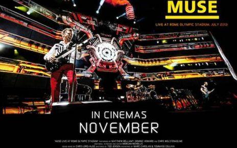 4K - Muse - Live au Stade olympique de Rome à la Géode affiche muse live rome