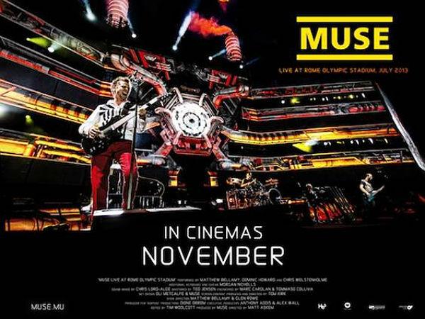 Critiques - Muse - Live au Stade olympique de Rome à la Géode affiche muse live rome