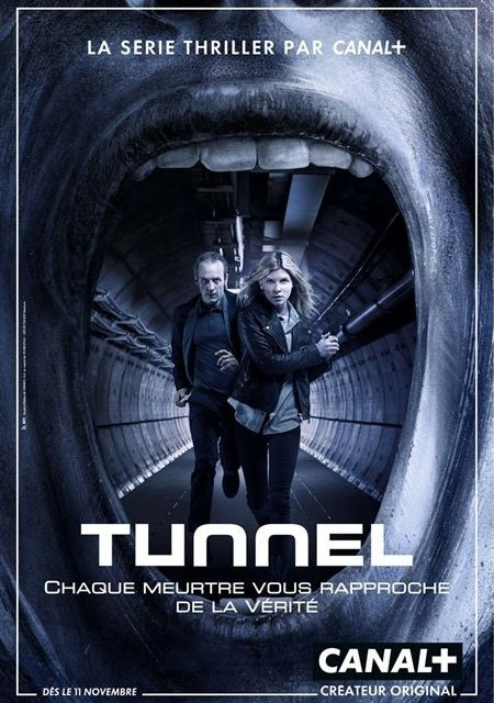 Tunnel : la trame coupée en deux