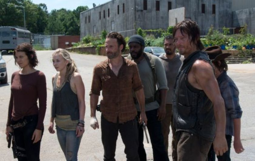 The Walking Dead : une audience (presque) décevante pour le mid-season